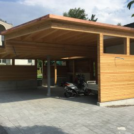 Stump AG Holzbau - Carport